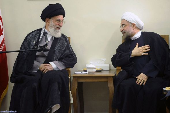 Khamenei Rouhani