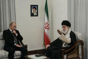 Supreme Leader Ali Khamenei meeting President Putin